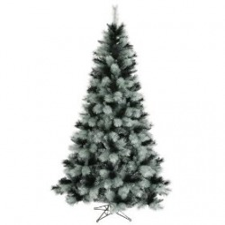 black artificial christmas tree 75 black ash - Black Artificial Christmas Tree